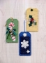 Ornament Tags II – felt