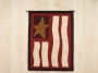 Primitive Flag Door Hanging