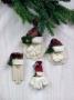 Santa Ornament & Pins Collection I