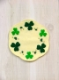 Shamrocks Candle Mat