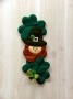 St. Patrick's Day Leprechaun Door Hanging