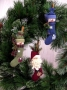 Stocking Ornaments (Santa & Snowman)