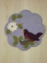 The Arrival of Spring Candle Mat
