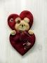 Valentine Bear Wall Hanging