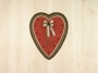 Watermelon Heart Wall Hanging