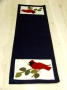 Winter Postcard Table Runner