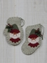 Woolen Mitten and Stocking Ornament: Elf